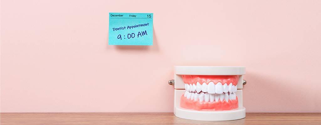 Kontrolltermin beim Zahnarzt